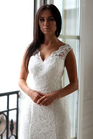 656f46a0614 Платье в трансформированном виде без верхней пышной юбки можно использовать  и после для торжественных выходов